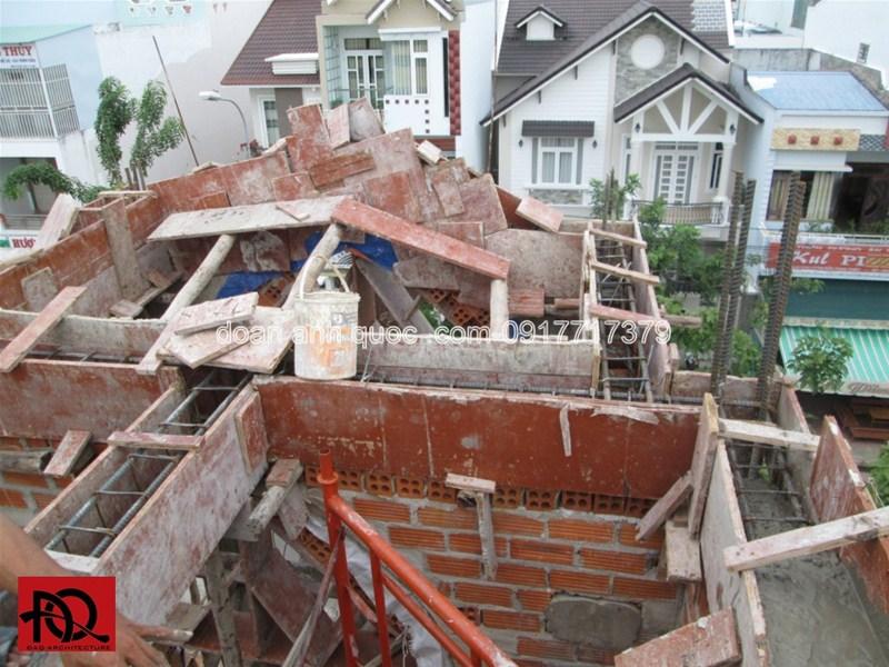 Thi công trọn gói nhà phố H Khu Thương Mại Phan Thiết